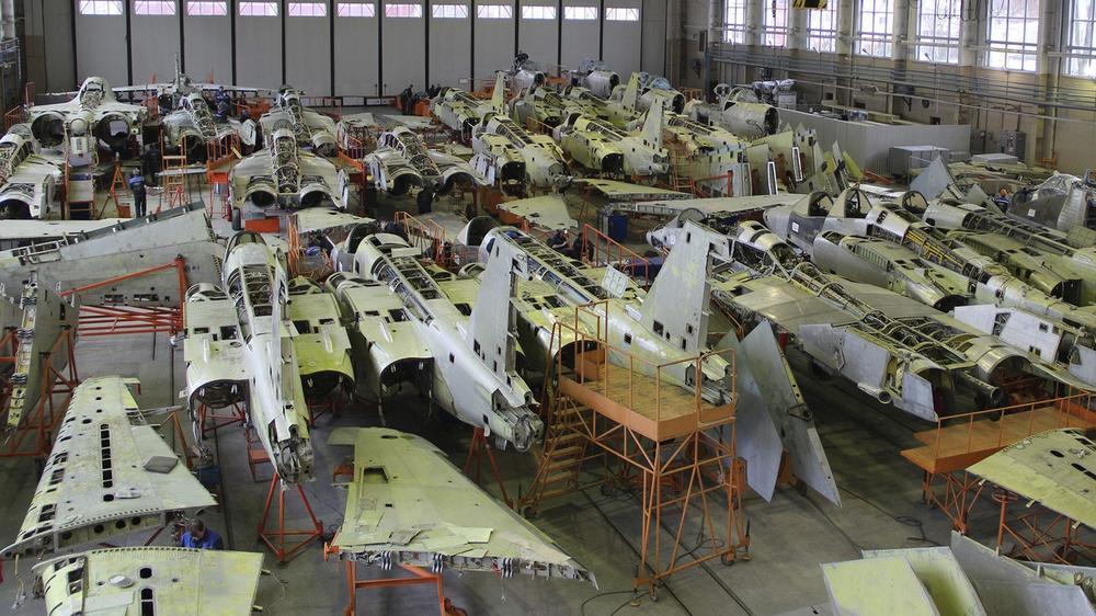 Planta De Reparación De Aeronaves No.558 Hoy Día
