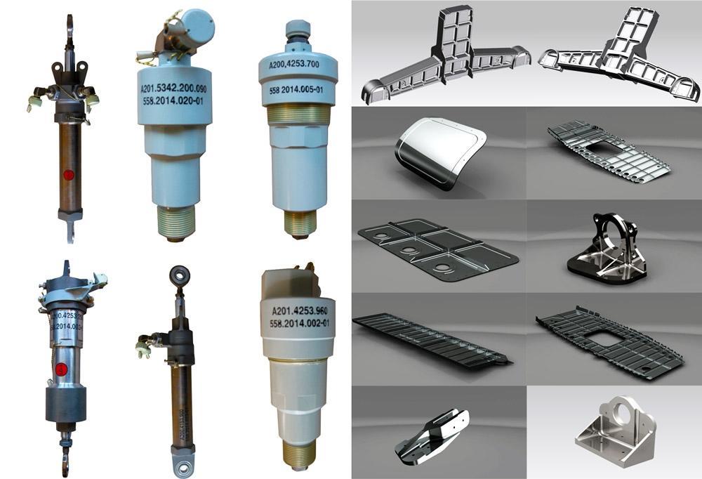 Производство деталей и сборочных единиц АТ